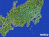 2020年05月31日の関東・甲信地方のアメダス(風向・風速)