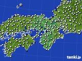 2020年05月31日の近畿地方のアメダス(風向・風速)