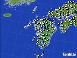 九州地方のアメダス実況(風向・風速)(2020年05月31日)