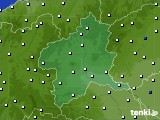 2020年05月31日の群馬県のアメダス(風向・風速)