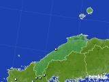 島根県のアメダス実況(降水量)(2020年06月01日)