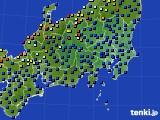関東・甲信地方のアメダス実況(日照時間)(2020年06月01日)