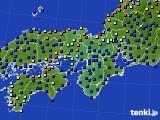 2020年06月01日の近畿地方のアメダス(日照時間)