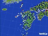 九州地方のアメダス実況(日照時間)(2020年06月01日)