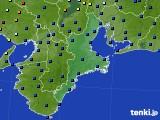 2020年06月01日の三重県のアメダス(日照時間)