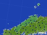 島根県のアメダス実況(日照時間)(2020年06月01日)