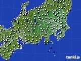 2020年06月01日の関東・甲信地方のアメダス(風向・風速)