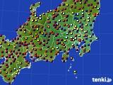 関東・甲信地方のアメダス実況(日照時間)(2020年06月02日)