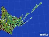 道東のアメダス実況(日照時間)(2020年06月02日)