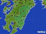 2020年06月02日の宮崎県のアメダス(日照時間)