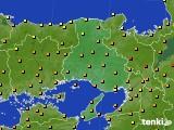 2020年06月02日の兵庫県のアメダス(気温)