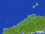 2020年06月02日の島根県のアメダス(気温)