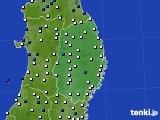 2020年06月02日の岩手県のアメダス(風向・風速)