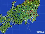 関東・甲信地方のアメダス実況(日照時間)(2020年06月03日)