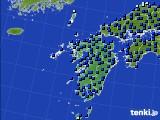 九州地方のアメダス実況(日照時間)(2020年06月03日)
