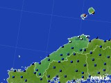 島根県のアメダス実況(日照時間)(2020年06月03日)