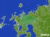 2020年06月03日の佐賀県のアメダス(気温)