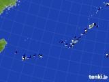 沖縄地方のアメダス実況(風向・風速)(2020年06月03日)