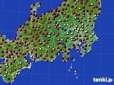 関東・甲信地方のアメダス実況(日照時間)(2020年06月04日)