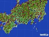 東海地方のアメダス実況(日照時間)(2020年06月04日)