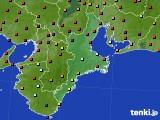 2020年06月04日の三重県のアメダス(日照時間)