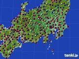 関東・甲信地方のアメダス実況(日照時間)(2020年06月05日)