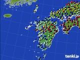 九州地方のアメダス実況(日照時間)(2020年06月05日)