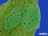 福島県のアメダス実況(日照時間)(2020年06月05日)