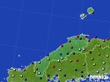 2020年06月05日の島根県のアメダス(日照時間)