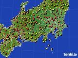 関東・甲信地方のアメダス実況(気温)(2020年06月05日)