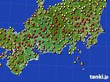 2020年06月05日の東海地方のアメダス(気温)
