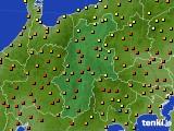 2020年06月05日の長野県のアメダス(気温)