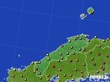 島根県のアメダス実況(気温)(2020年06月05日)