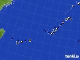 沖縄地方のアメダス実況(風向・風速)(2020年06月05日)
