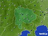 山梨県のアメダス実況(風向・風速)(2020年06月05日)