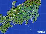 関東・甲信地方のアメダス実況(日照時間)(2020年06月06日)