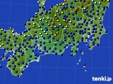 東海地方のアメダス実況(日照時間)(2020年06月06日)