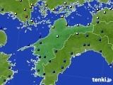 2020年06月06日の愛媛県のアメダス(日照時間)