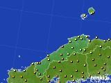 2020年06月06日の島根県のアメダス(気温)