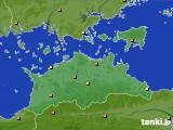 2020年06月06日の香川県のアメダス(気温)