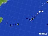 2020年06月06日の沖縄地方のアメダス(風向・風速)