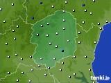 2020年06月06日の栃木県のアメダス(風向・風速)