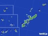 2020年06月06日の沖縄県のアメダス(風向・風速)