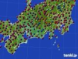 東海地方のアメダス実況(日照時間)(2020年06月07日)