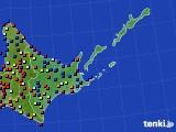 道東のアメダス実況(日照時間)(2020年06月07日)