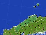 2020年06月07日の島根県のアメダス(気温)