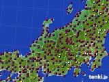 2020年06月08日の北陸地方のアメダス(日照時間)