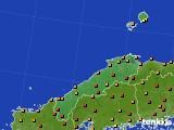 2020年06月08日の島根県のアメダス(気温)