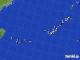 沖縄地方のアメダス実況(風向・風速)(2020年06月08日)