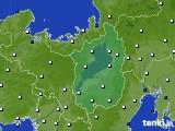 2020年06月08日の滋賀県のアメダス(風向・風速)
